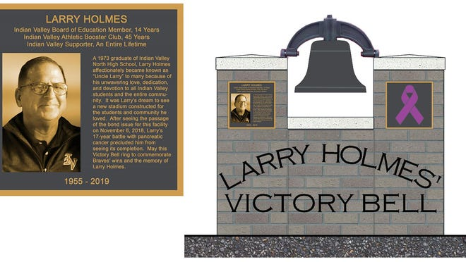 Here is what the Larry Holmes Victory Bell will look like.