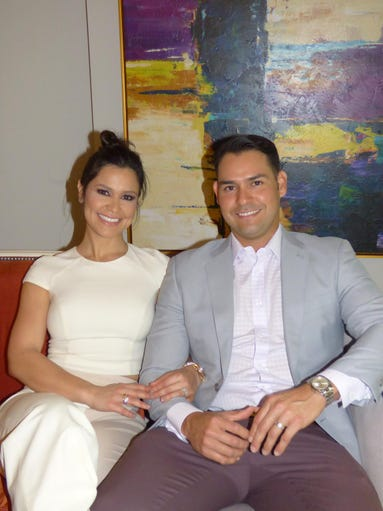 Benefactor party hosts Ana and Anibal Sanchez.
