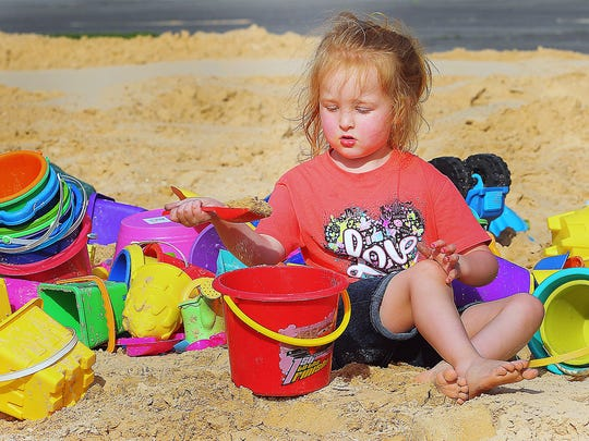 The annual Barfield Beach Party is set for 5 p.m. Friday.
