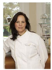 """Miche Bacher is the author of """"Cooking with Flowers."""""""