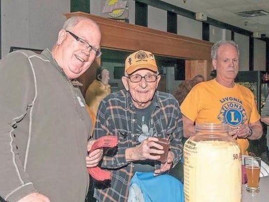 Last year, volunteer Gary Deschenes was busily selling
