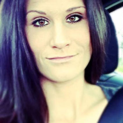 Nicole Laube, 29, of Forest Grove, died after she was stabbed at an apartment complex in Washington County.