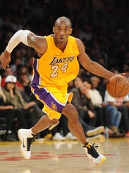 Gary A. Vasquez, USA TODAY Sports The Lakers? Kobe