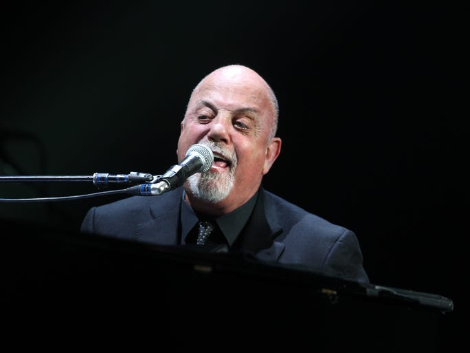 March 25, 2016 -  Grammy Award winning pianist, singer-songwriter, and composer, Billy Joel, performs at FedExForum Friday evening, his first Memphis show in 15 years.