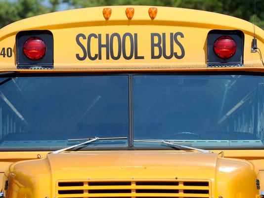 Photo --- school bus
