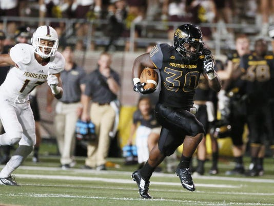 NCAA Football: Southern Mississippi at Texas State