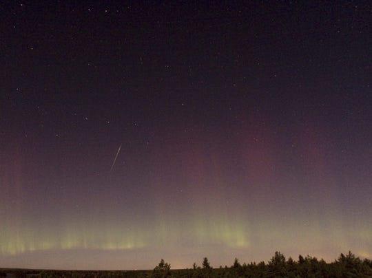 Draconid meteor shower Sweden 2011