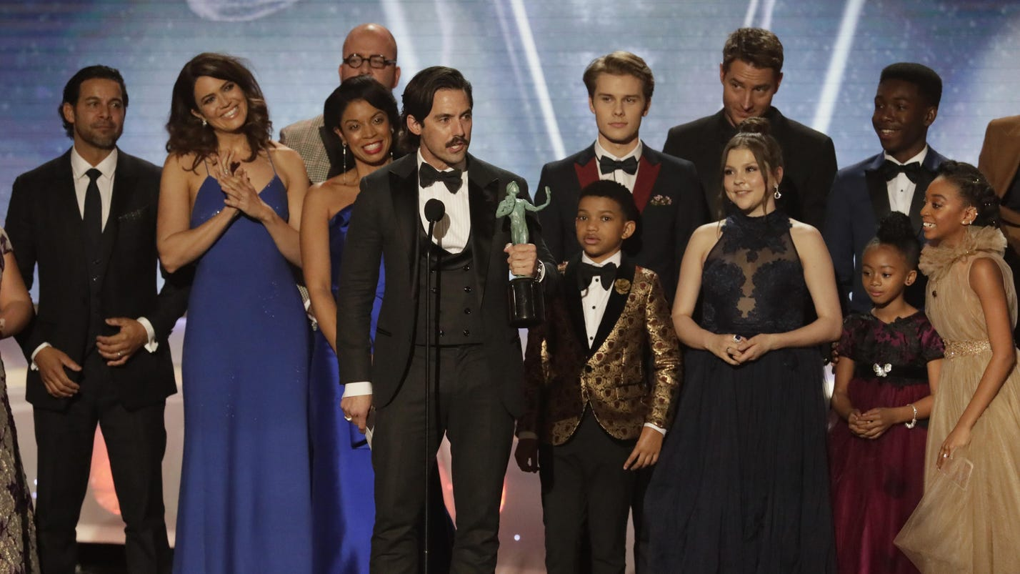 'This Is Us,' 'Veep' casts net top SAG TV series awards
