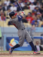Ian Kinsler provided all the offense Team USA needed,
