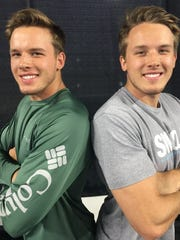 "Siegel's graduating Class of 2018 boasts two sets of twins within their valedictorian list. Joseph ""Tristan,"" left, and Trevor Rockett are one set."