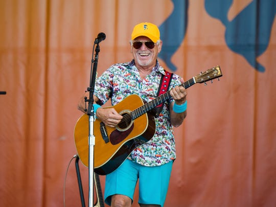 Jimmy Buffett will hit the Ruoff Home Mortgage Music Center on May 24.