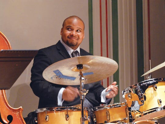 Drummer Sean Dobbins will pay tribute to African-American musicians and composers during a Black History Month concert in Palmer Woods Saturday.