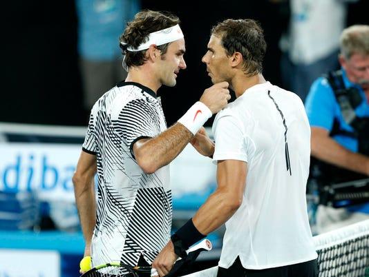 2018-01-13 Federer Nadal
