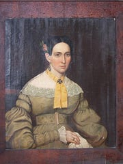 Portrait of Elizabeth Jones Neely Winn is part of the Mifflin Collection program at the Thomas County Historical Society.