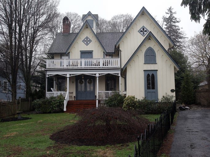 This is a view of a converted carriage house built around 1868 owned by Jennifer Rothschild in Nyack on April 15, 2014.
