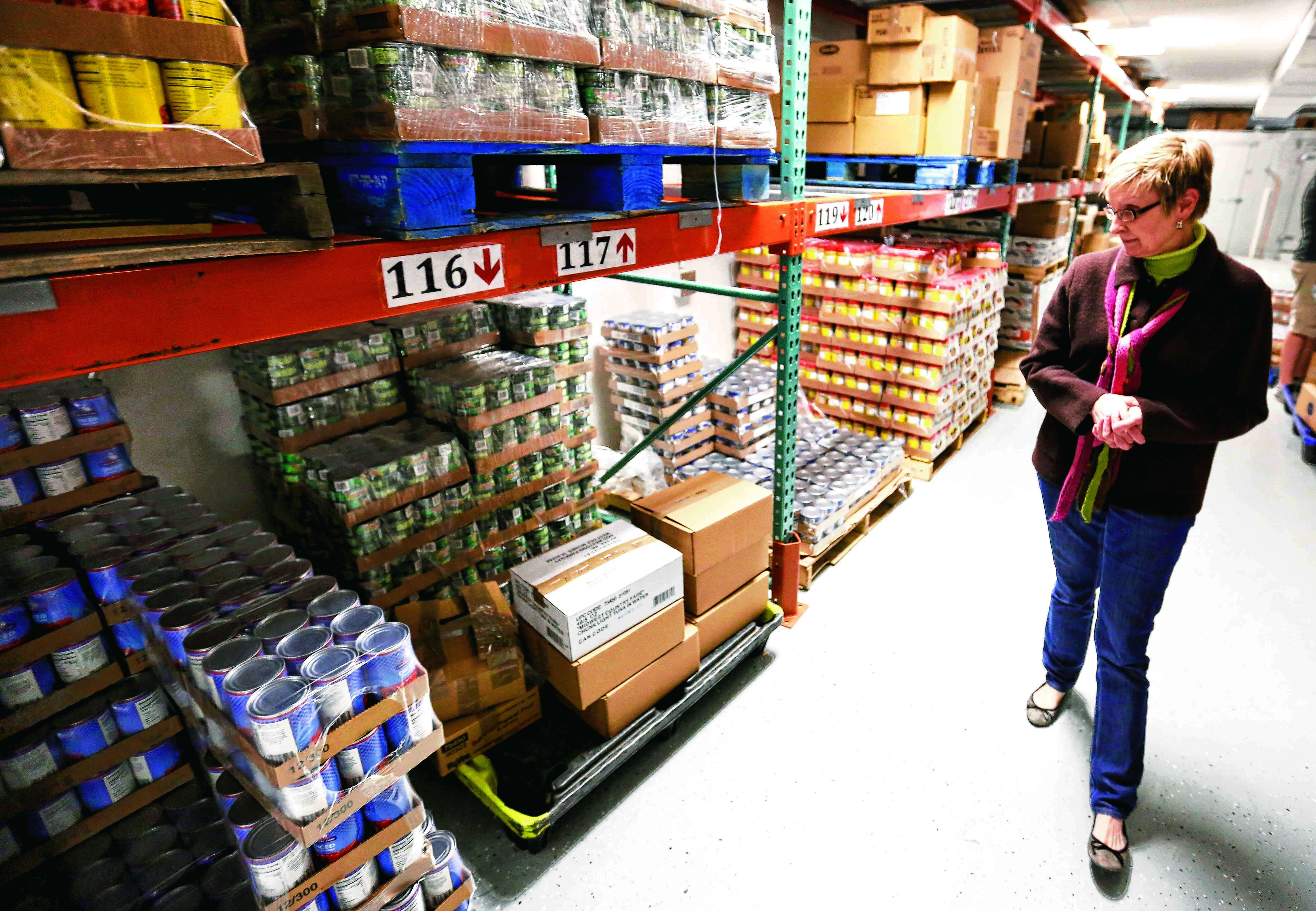 New warehouse expands food pantrys options