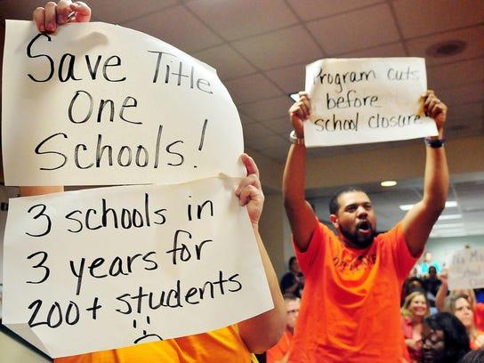 SCHOOL BOARD MEETING SCHOOL CLOSINGS