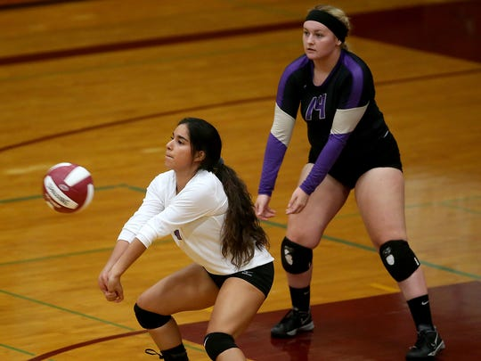 North Kitsap's Eunice Moran says she enjoys playing the defense-oriented libero position.