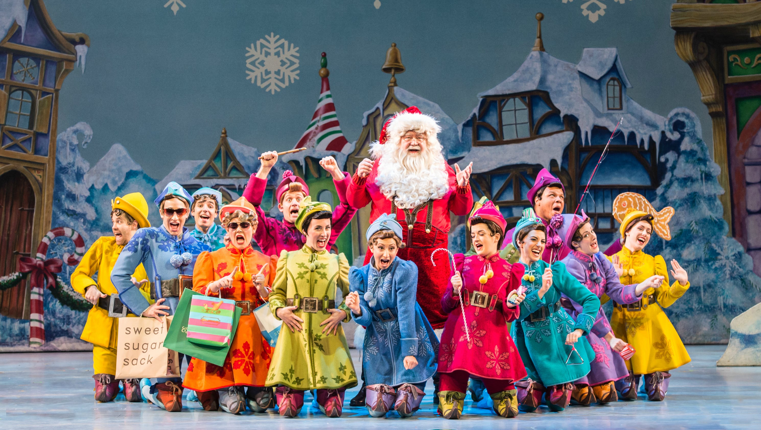 Elf The Musical Touring December