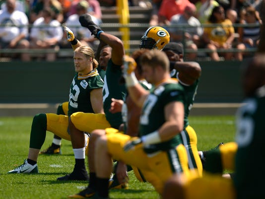 GPG Packers training camp 081515