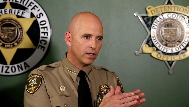 Pinal County Sheriff Paul Babeu.