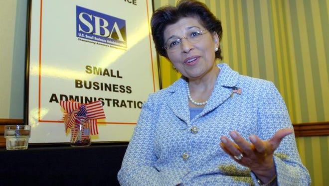 Jovita Carranza, empresaria de origen mexicano.