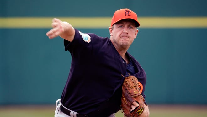 Jordan Zimmermann pitched three scoreless innings Wednesday against the Astros.