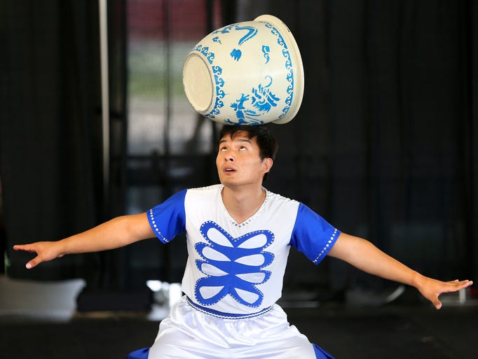 """Indiana State Fair A to Z - """"A"""" - Acrobats with The"""