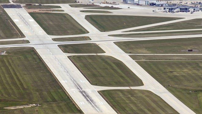 Runways at Austin Straubel International Airport.