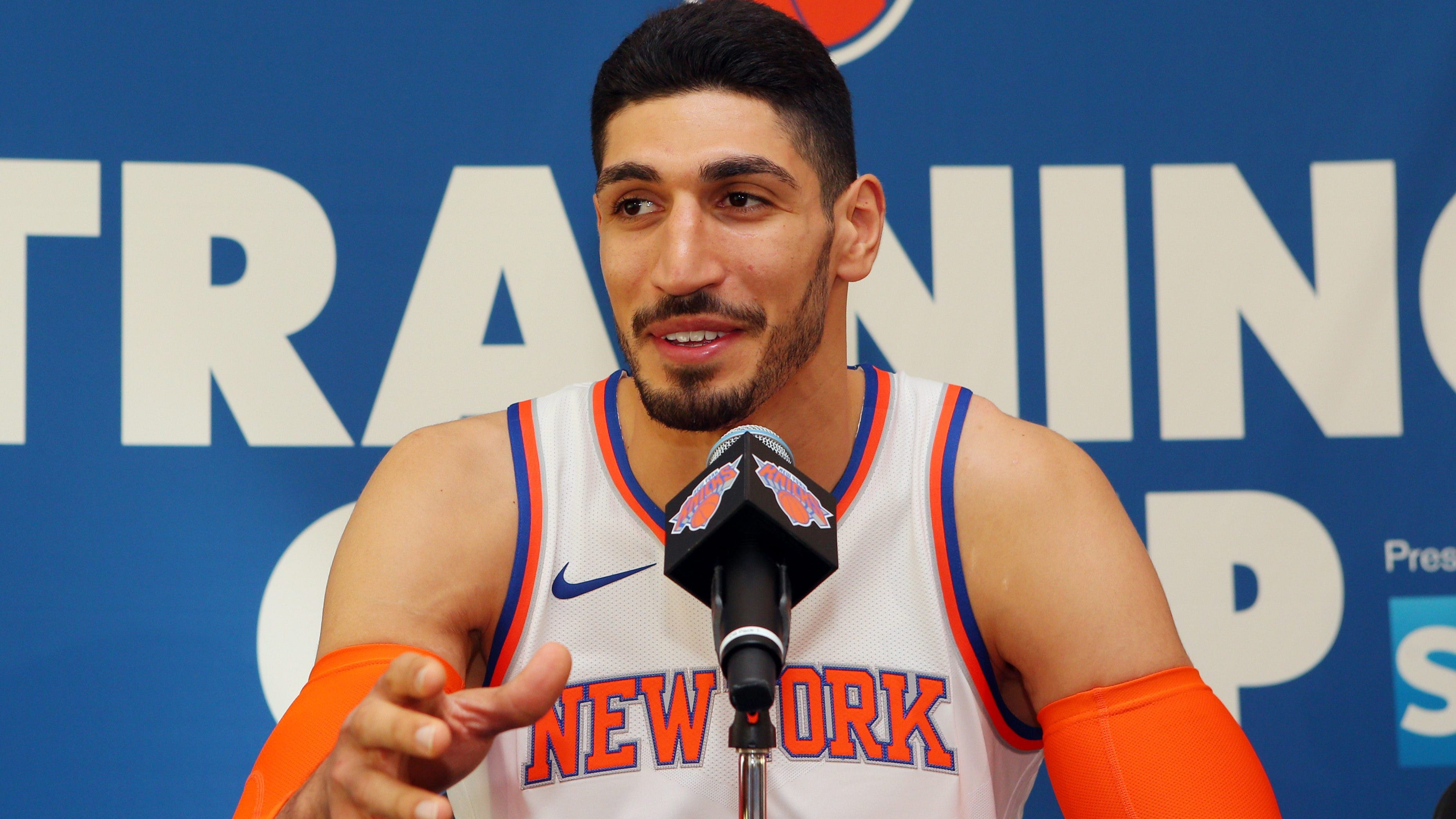 young campers celebrate after kid beats enes kanter in