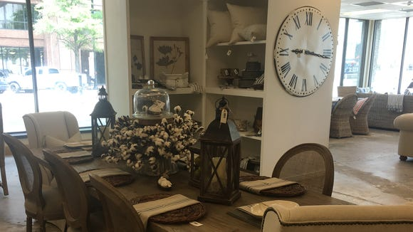The Southern Exchange features a rotating inventory of furniture and home decor.