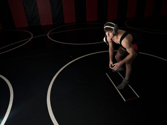 Kingsway wrestler Quinn Kinner is the Courier Post