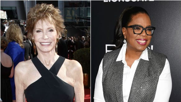 Mary Tyler Moore surprised Oprah in a heartwarming