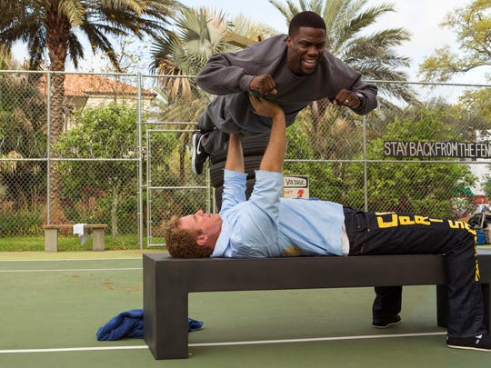 """Kevin Hart and Will Ferrell in """"Get Hard."""""""