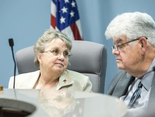 Diane Douglas and Greg Miller