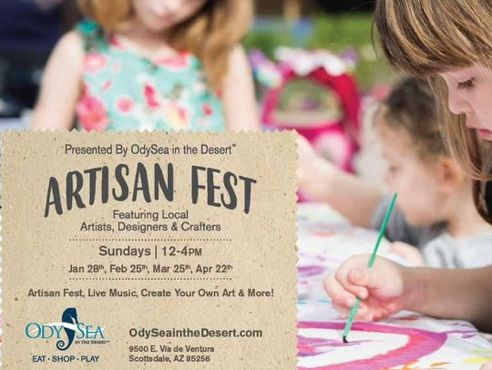 The new Artisan Fest includes family yoga, live music