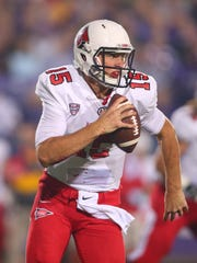 Ball State quarterback Riley Neal showed great upside