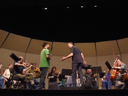 Daniel Hege, the new music director and conductor of