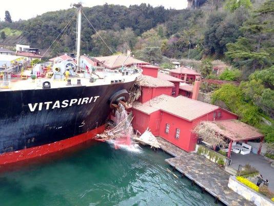 Turkey Ship Accident