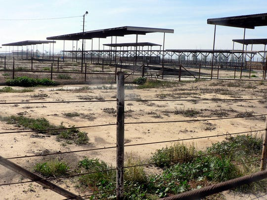 At one time the Chino Valley in California was the nation's biggest dairy area. Today many corrals are empty awaiting development.