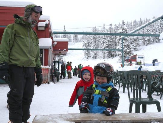 The Mt. Shasta Ski Park is open for skiing.