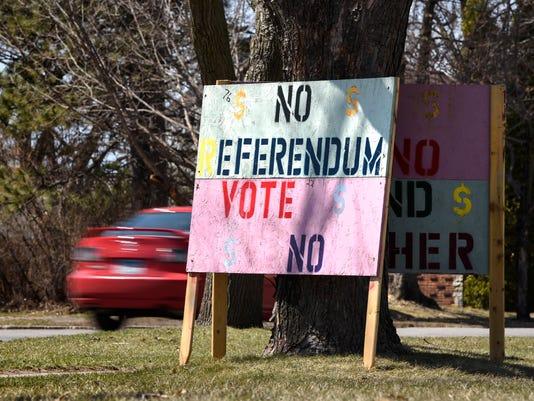 Sauk Rapids Vote No