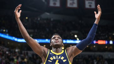 How Pacers guard Victor Oladipo transformed his body, why he sings, and the Paul George trade