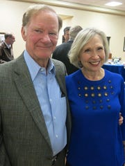 Dr. Judd and Judy Chidlow at Highland Clinic celebration.