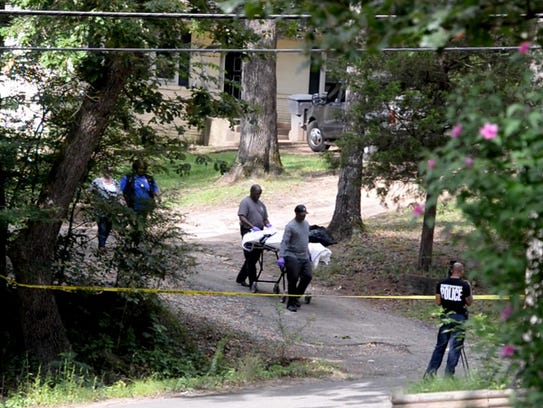 Shreveport police responded to a double homicide on