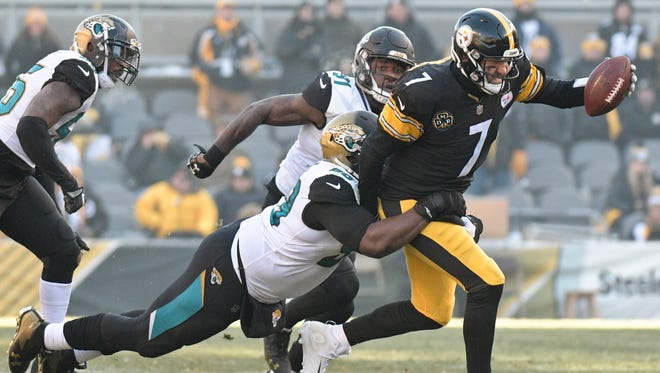 After edging the Steelers, the Jaguars advanced to take on the Patriots in Sunday's AFC title game.