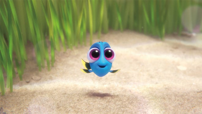 Baby Dory in 'Finding Dory.'