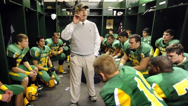 Catholic coach Greg Seibert