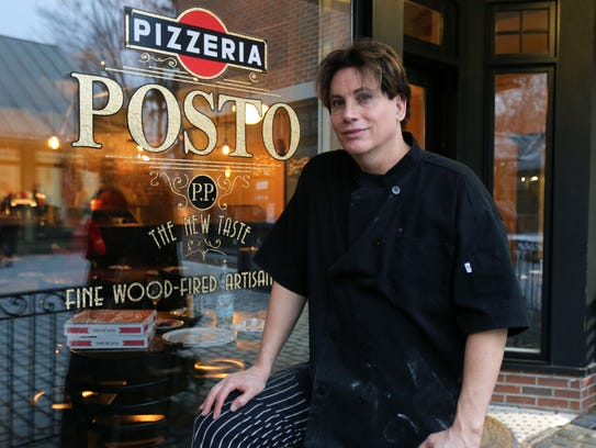 Patrick Amedeo, the owner and pizza chef  at Pizzeria