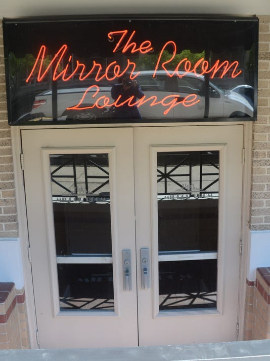 ANI The Mirror Lounge The Mirror Lounge located in the Hotel Bentley in downtown Alexandria will open to the public Friday evening. -Melinda Martinez/mmartinez@thetowntalk.com